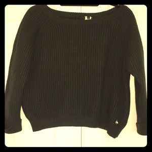 Woolrich vintage cropped 100% wool sweater